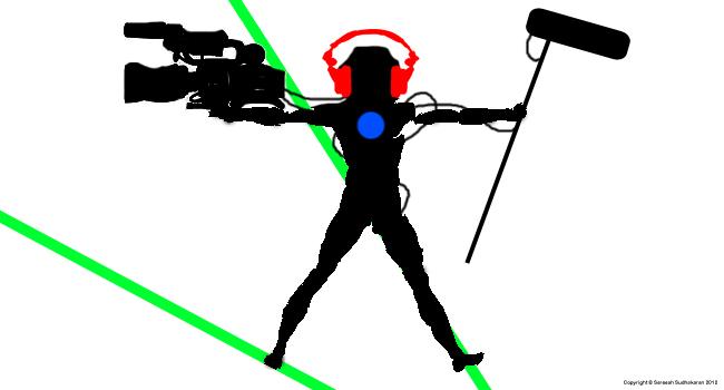 The modern cameraman