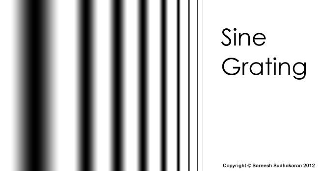 The Sine Grating