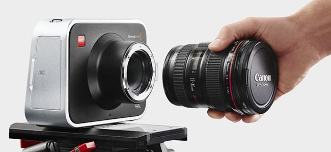 BMCC EF lenses