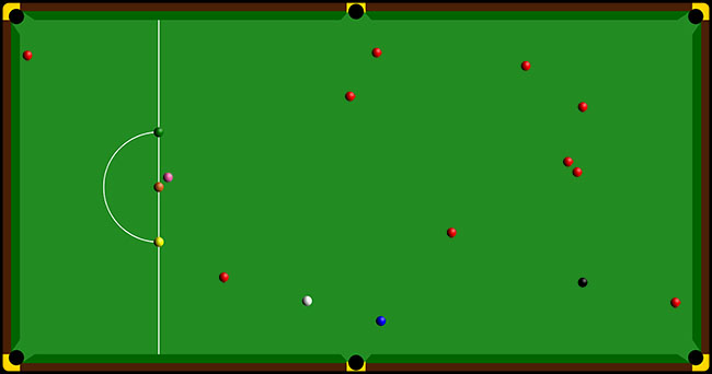 Snooker Scattered