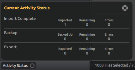 Bulletproof Activity Status