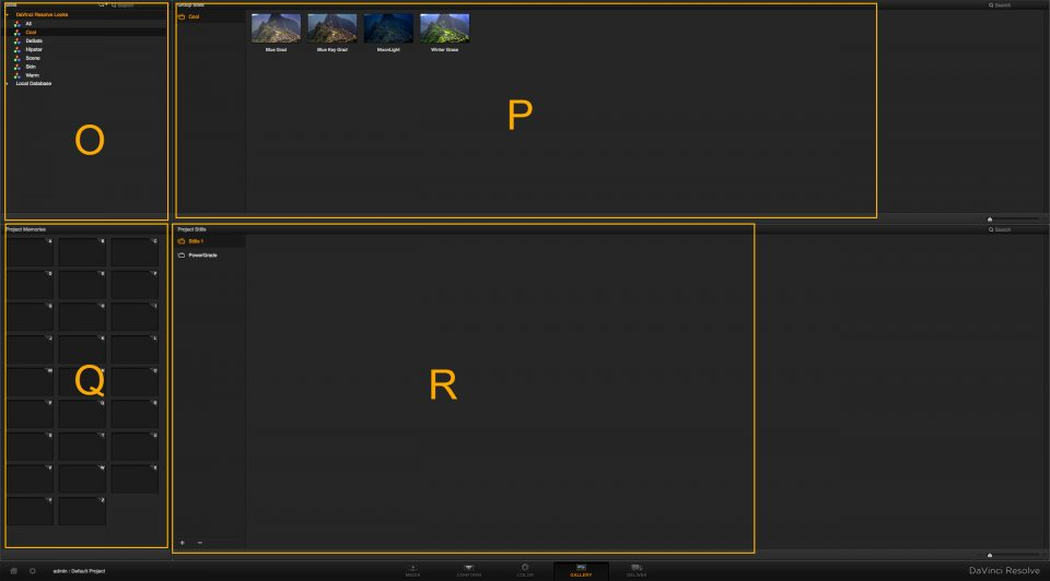 Resolve Gallery Page