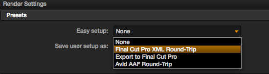 Resolve to FCP-X Round-trip