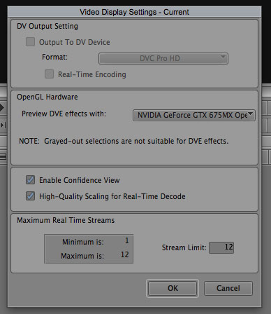 How to Import Video into Avid Media Composer (Part Three): System and Project Settings