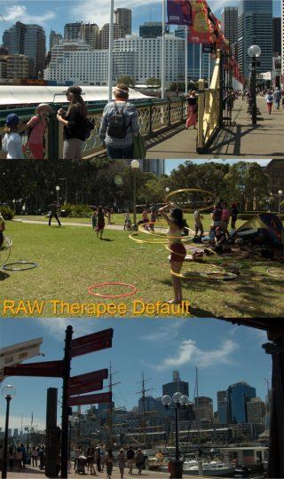 Default RAW Therapee