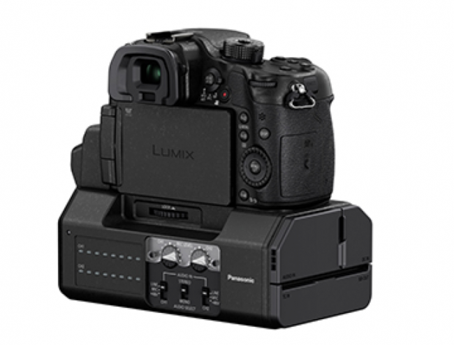 GH4 with Adapter