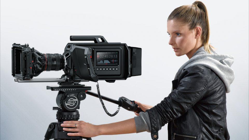 Blackmagic Design Announces Two New Cameras – URSA and Studio Camera