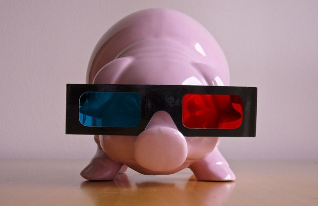 pig 3D glasses