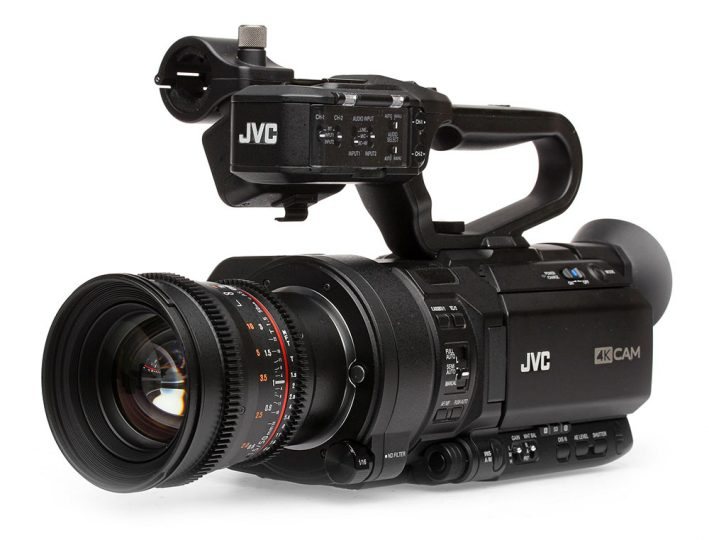 A Fun Comparison between the Blackmagic Design URSA, Sony FS7, Canon C100 Mark II and the JVC GY-LS300