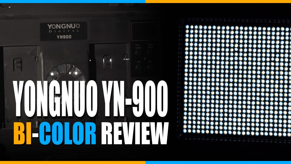 Yongnuo YN-900 Bi-color LED Light Panel Review