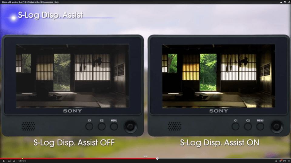 SLog2Display