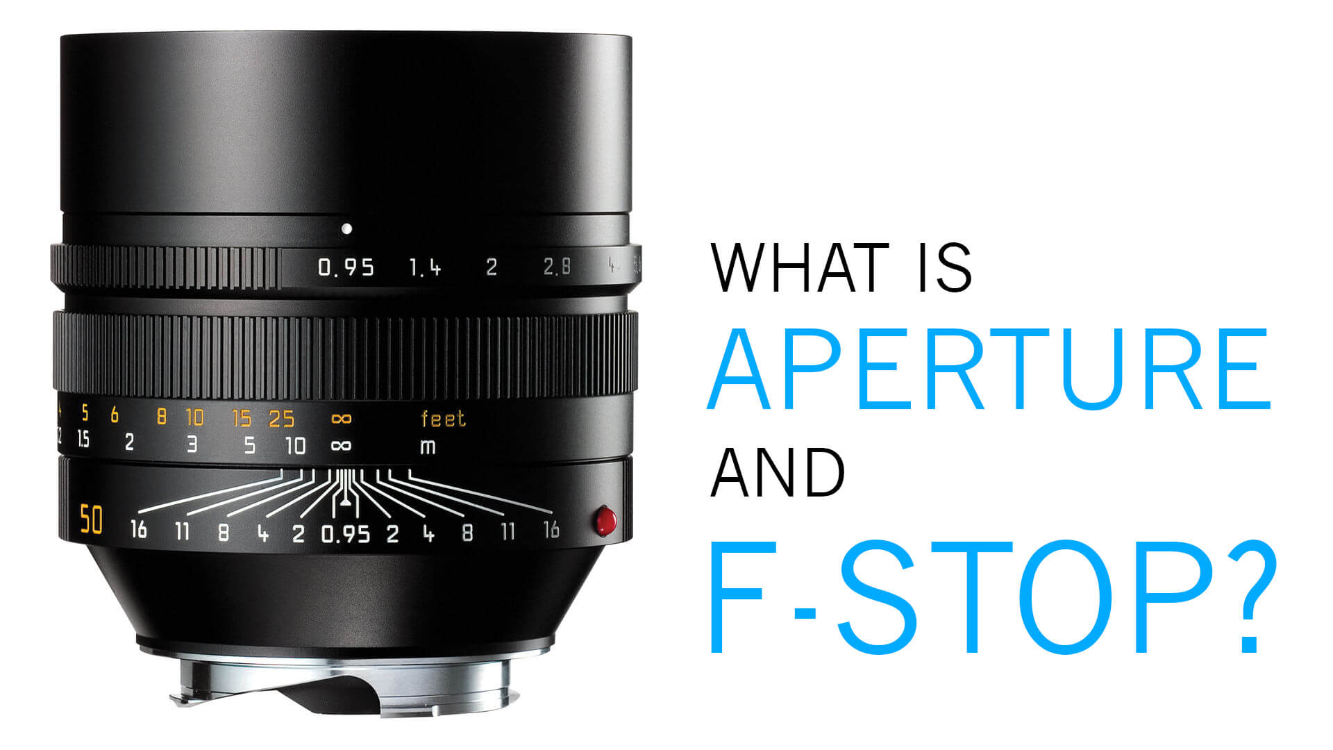 What is aperture and f-stopHIGH