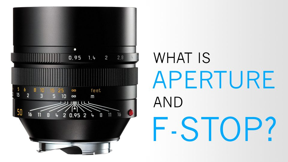What is Aperture and F-Stop?