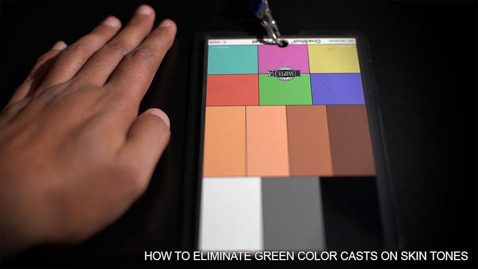 How to Eliminate Ugly Green Color Casts on Skin Tones and Lee Zircon Minus Green Review