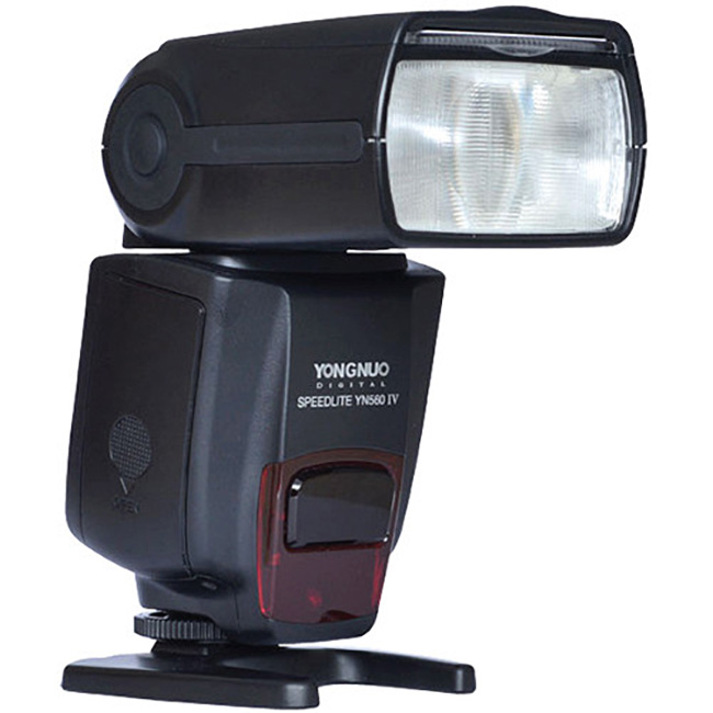 Yongnuo YN560-IV Flash Power Measured at Different Zoom Levels