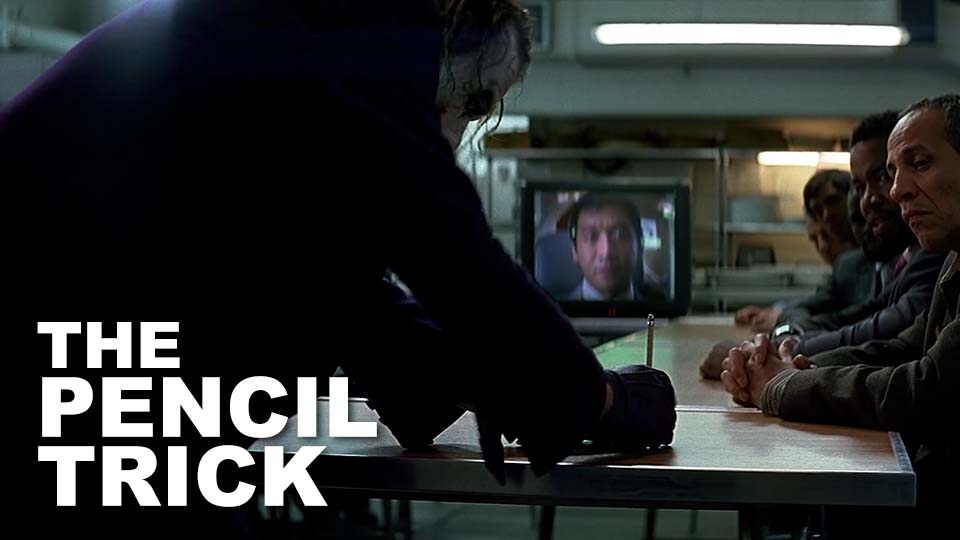 "Camera Angles and Movement: Christopher Nolan, ""Pencil Trick"" Scene, The Dark Knight"