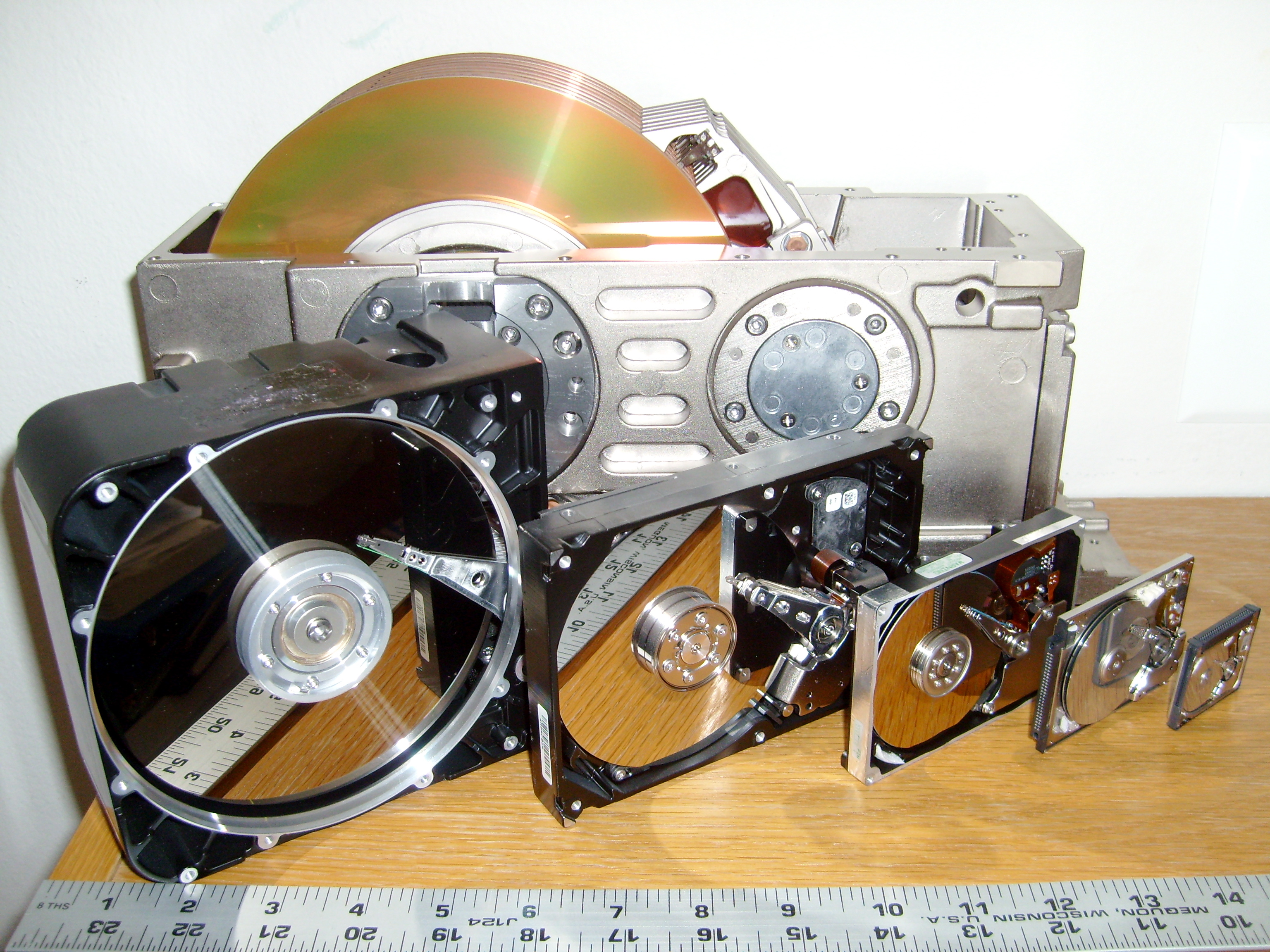 disk drive sizes