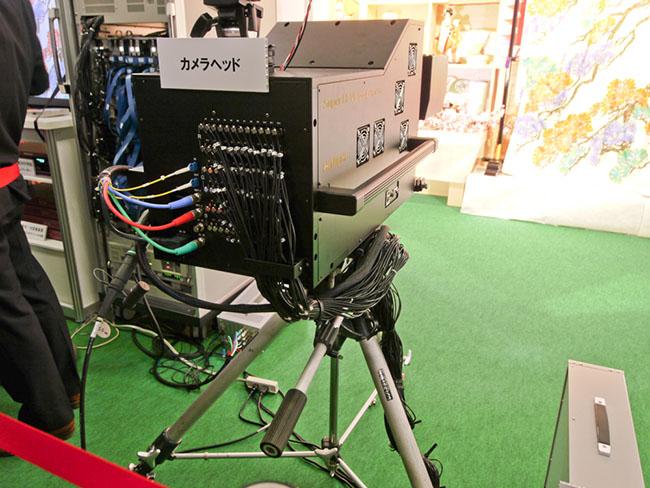 8K Prototype Camera