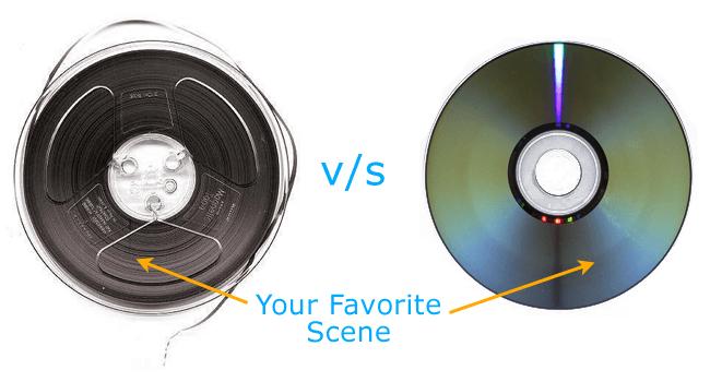 Tape vs Disc