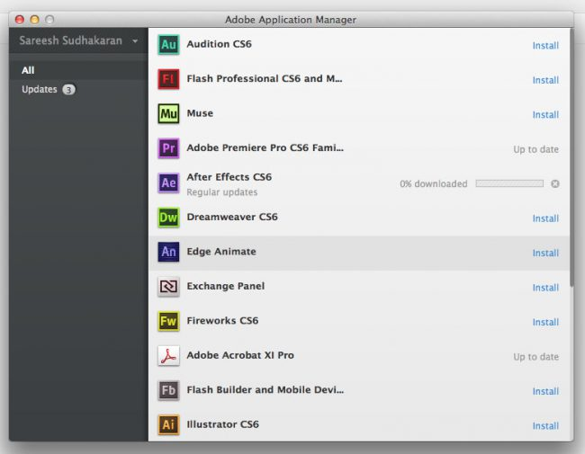 Adobe Application Manager