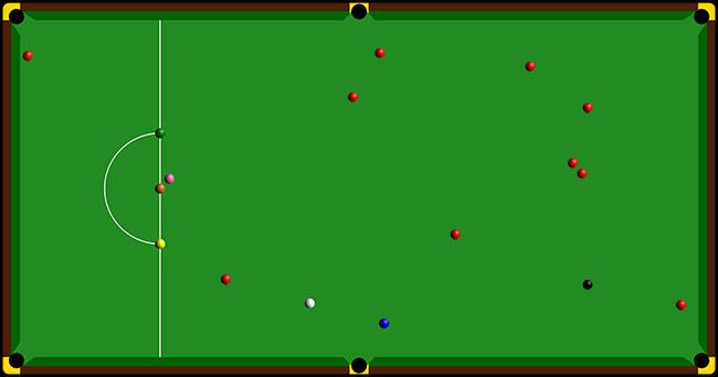 Snooker Scattered