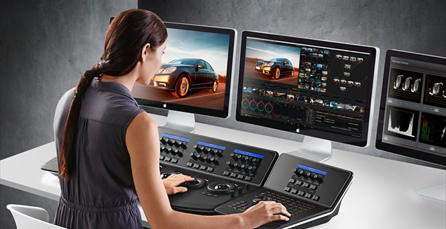 Davinci Resolve Girl