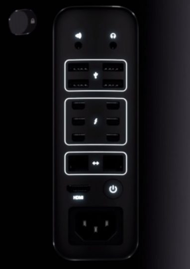 Mac Pro Connection Ports