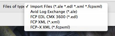 Redcine-X Pro Import Settings