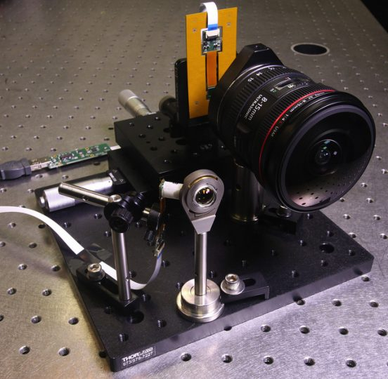 UCSD's Jacobs School of Engineering pulls a miniature 12mm wide-angle lens out of the hat