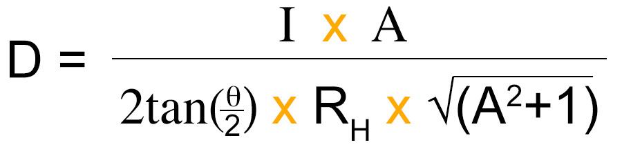 Ideal Distance Formula