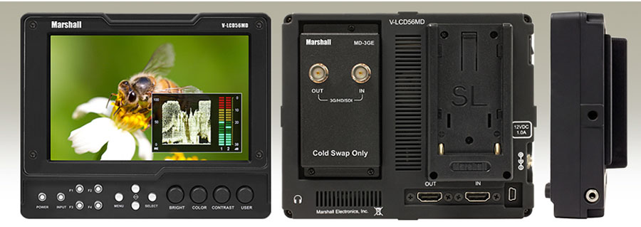 Marshal LCD56MD with SDI