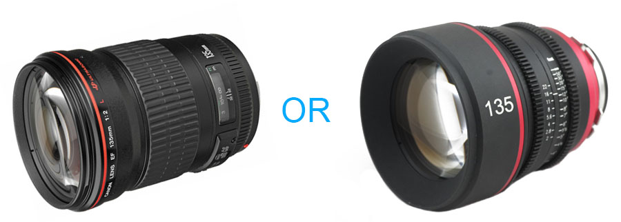 How to Choose a Camera Lens or Lenses for Long and Complex Projects