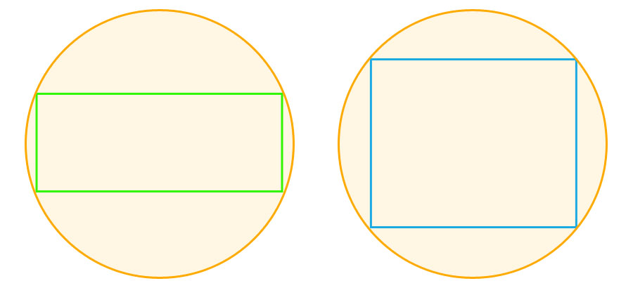 Image Circle and Sensor Diagonal