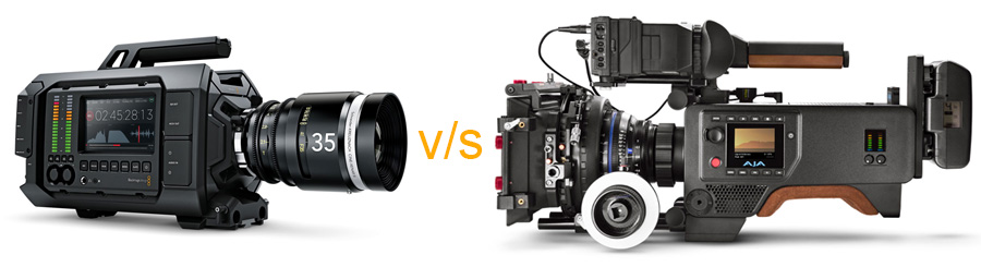 Head to Head: Blackmagic Design URSA vs the AJA CION – Which one's better?