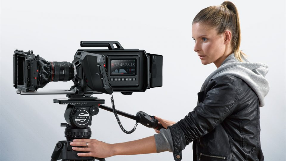 Blackmagic Design Announces Two New Cameras – URSA and Studio Camera