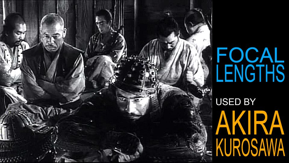 Did he really use telephoto lenses? A Study of the Focal Lengths Used by Akira Kurosawa