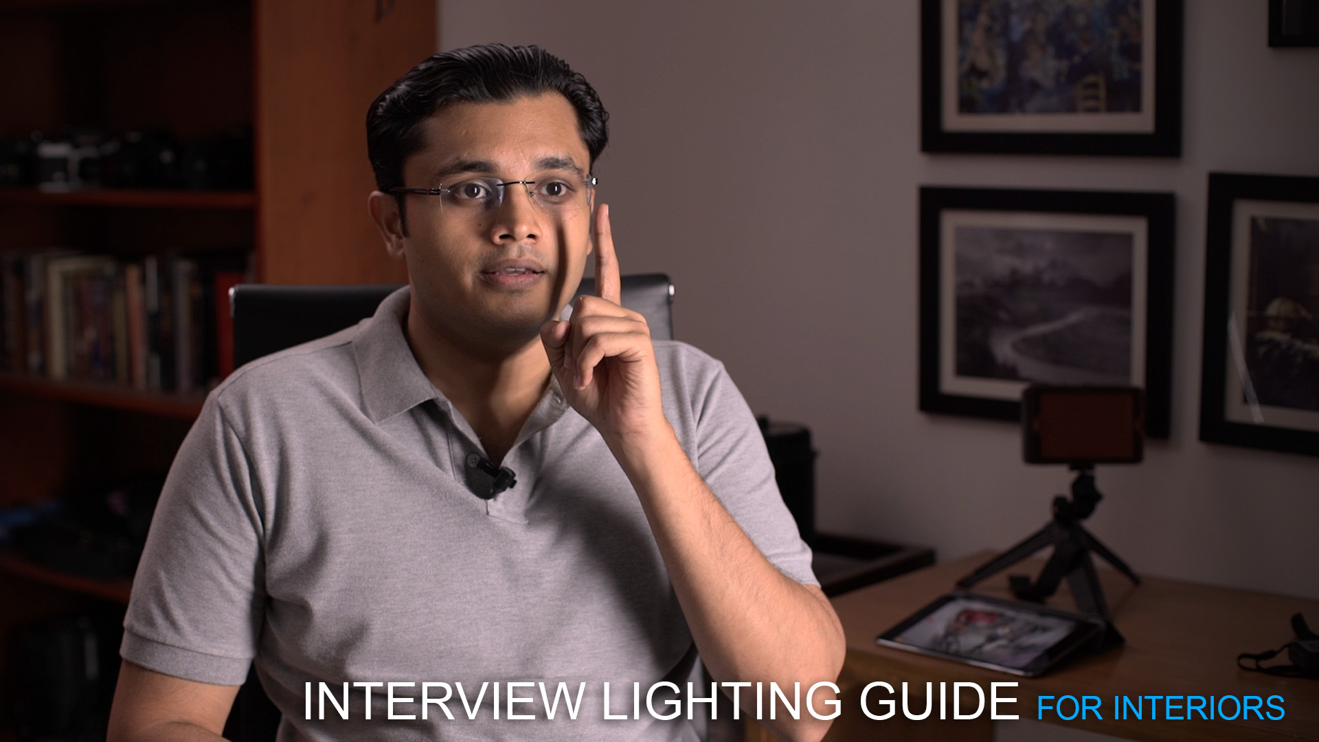The Interview Lighting Guide for Interior Locations