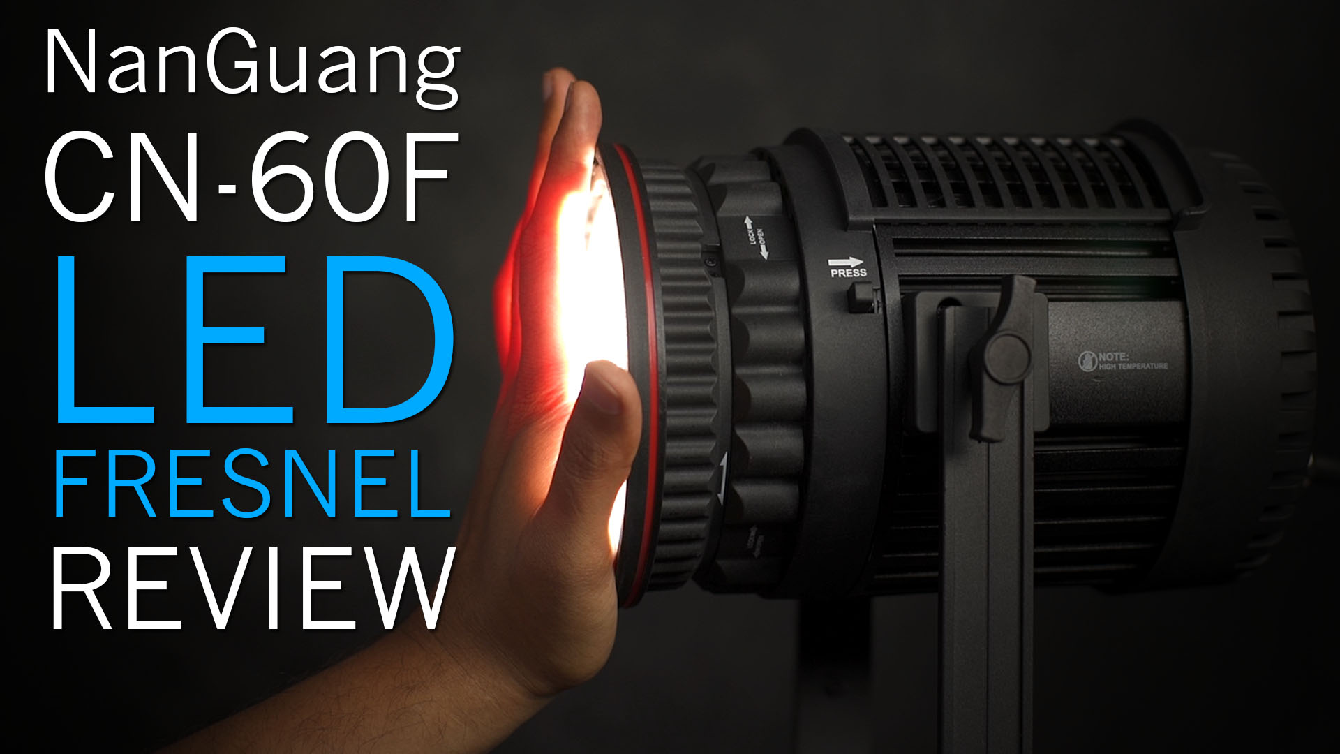 NanGuang CN-60F LED Fresnel Review