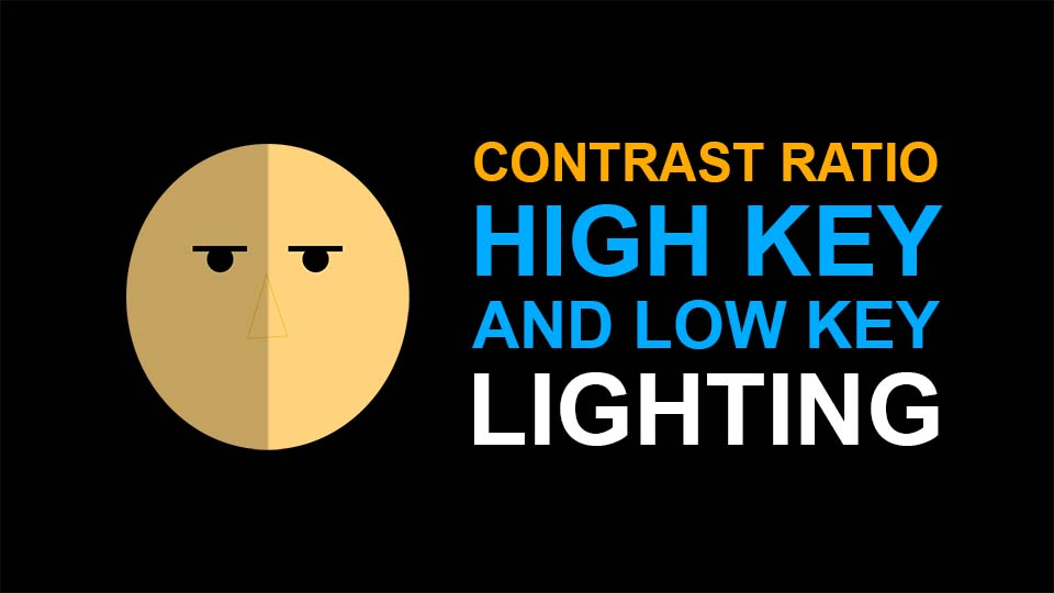 What is Contrast Ratio, High Key and Low Key Lighting