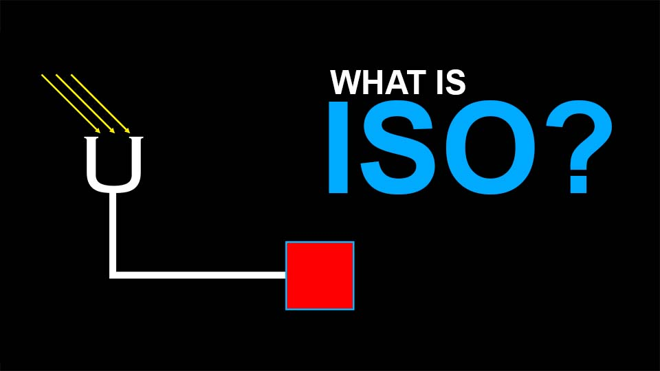 What is ISO in photography and cinematography?
