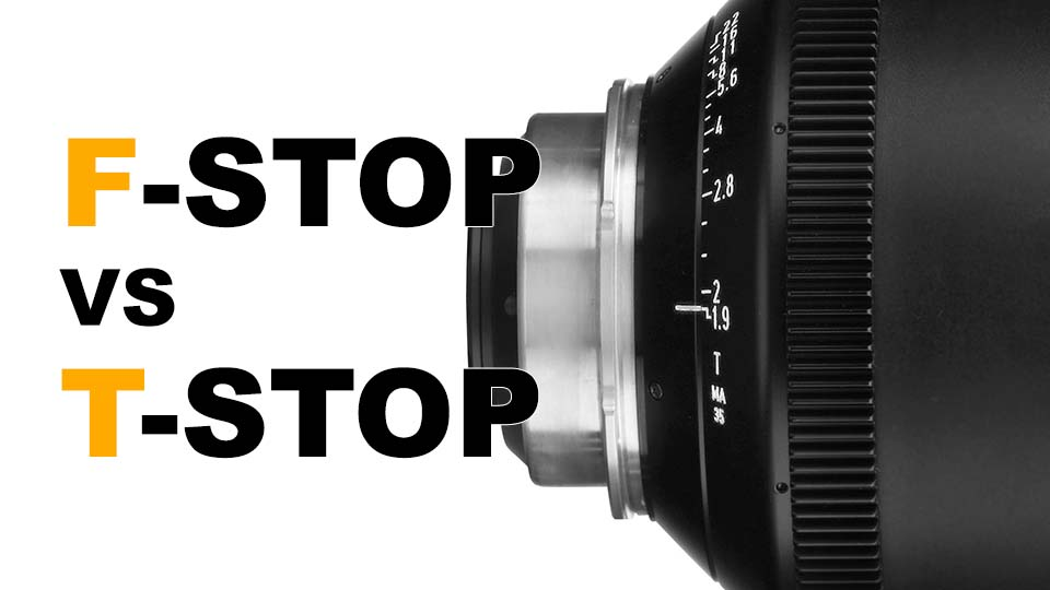 T-Stops vs F-Stops. Why is one used for photography while the other for cinema?