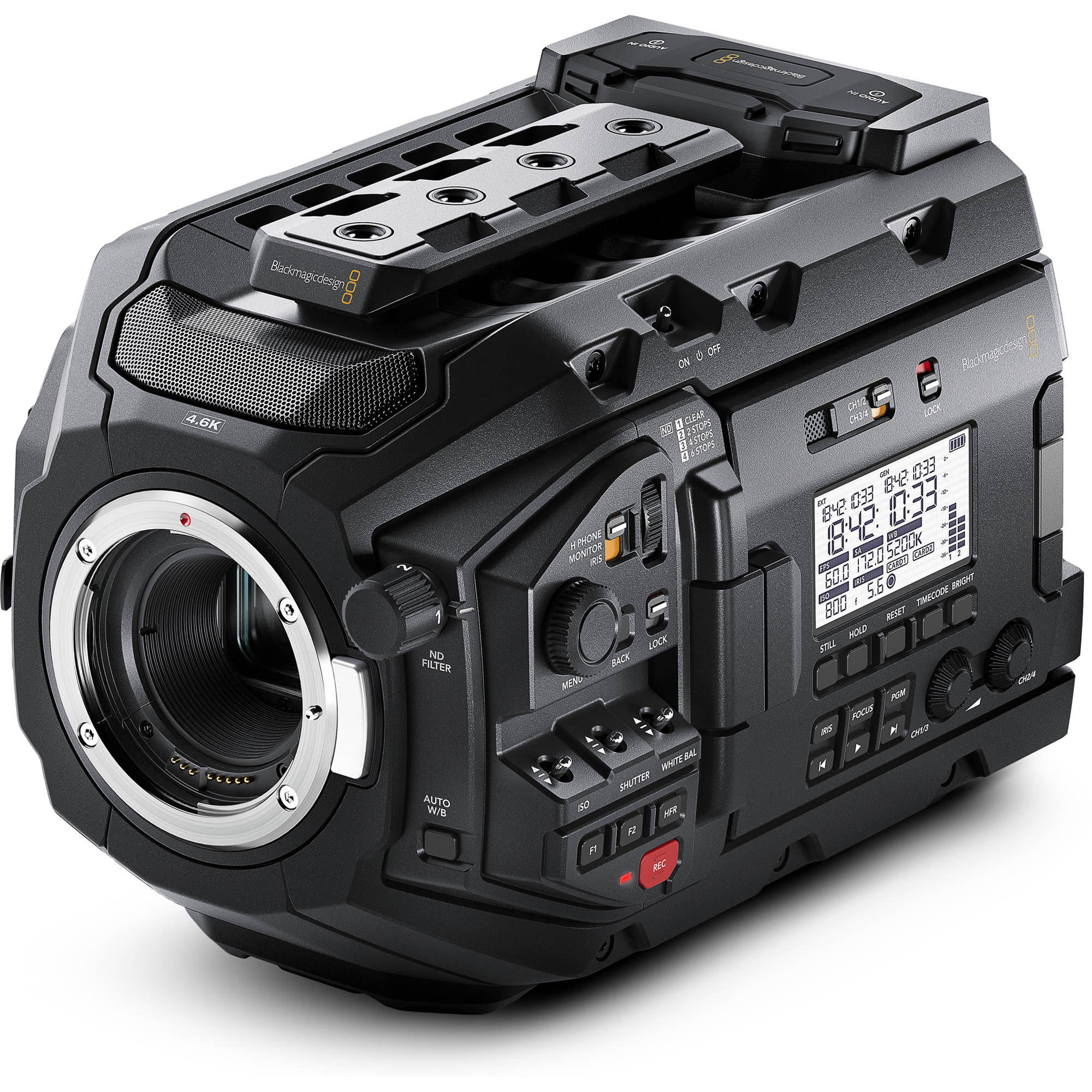 URSA Mini Pro vs Canon C200 vs Panasonic EVA1 vs Sony FS7II vs Canon