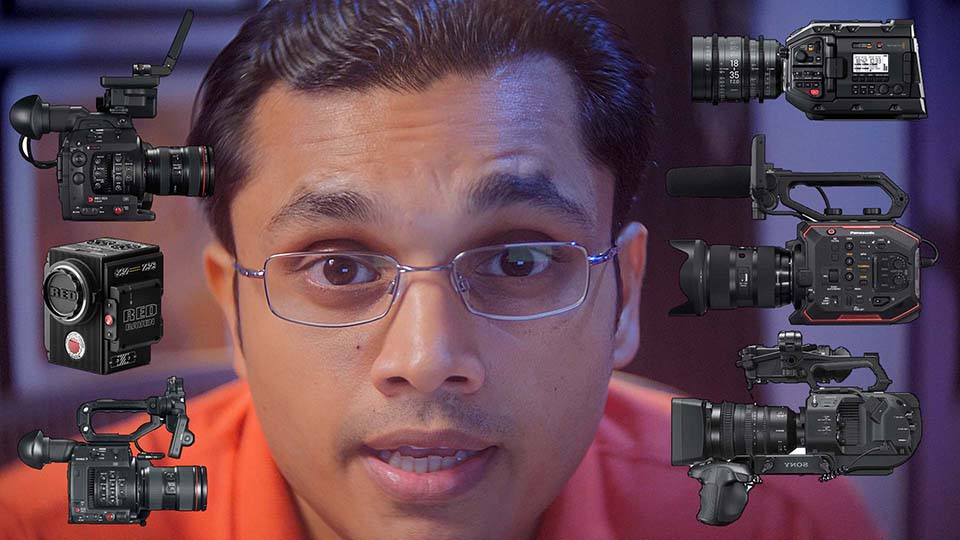 Best 4K Cinema Camera under $10,000? A Fun Comparison between the Blackmagic Design URSA Mini Pro 4.6K, Canon C200, Panasonic AU-EVA1, Sony FS7 Mark II, Canon C300 Mark II and Red Raven