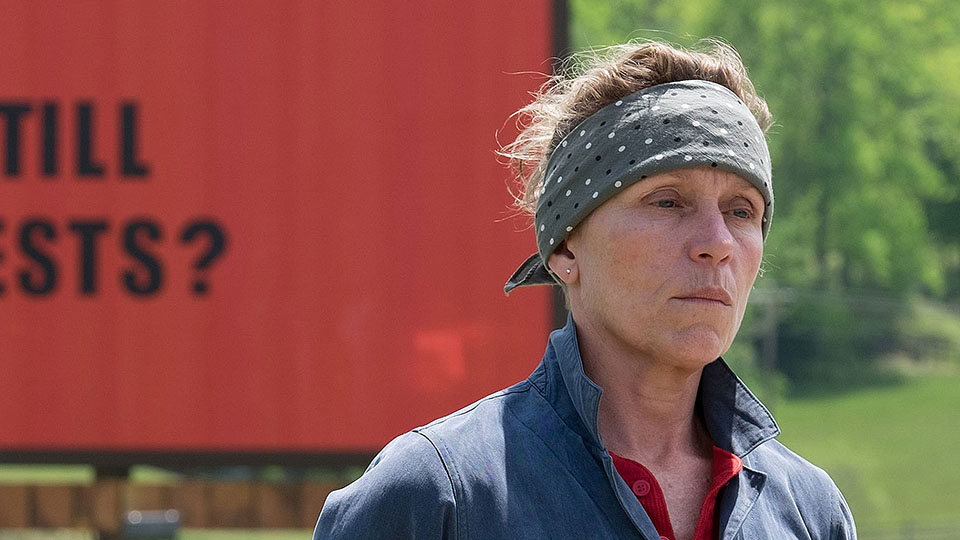 Camera Angles and Movement: Three Billboards Outside Ebbing, Missouri