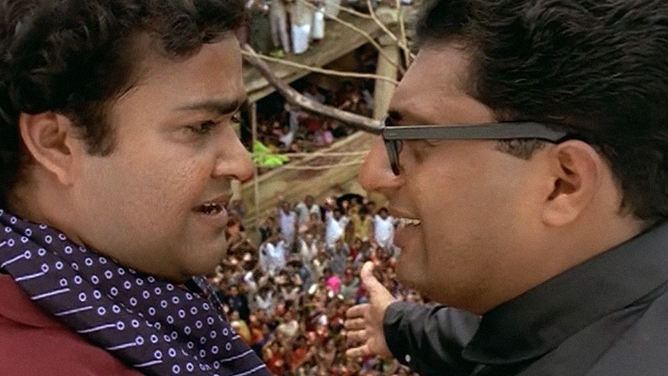 "Camera Angles and Blocking: ""Iruvar"" by Mani Ratnam"