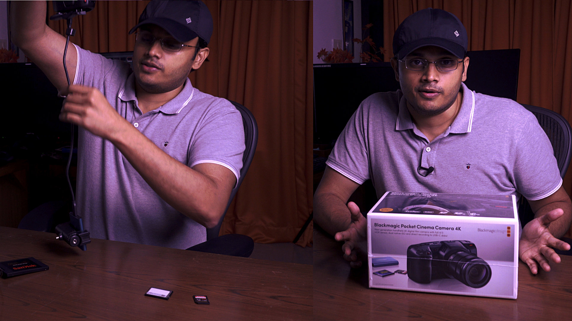 Blackmagic Pocket Camera 4K Unboxing and First Impressions